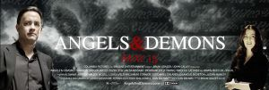 Angels and Demons banner poste by onurb-design