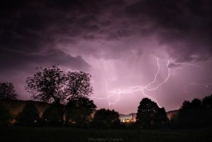 May 26 Lightning Strike by FlorentCourty