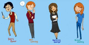 Harry Potter Smalls part 1 by BlueCheshireCat