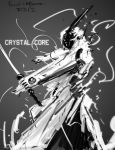 Crystal Core light swordsman concept design by benedickbana