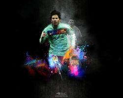 Lionel Messi Wallpaper by eaglelegend