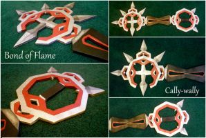 Bond of Flame Keyblade by Cally-wally
