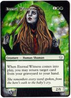Magic Card Alteration: Eternal Witness 9-3 by Ondal-the-Fool