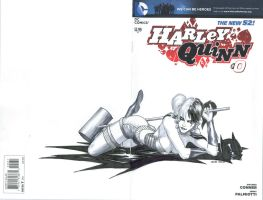 Harley Quinn Blank Cover by Ace-Continuado