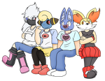 COLOURED - PokeTrainers by MattMiles