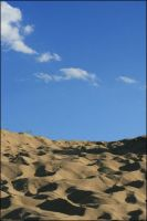 Sand and sky by bwaa