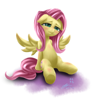 Sad Fluttershy by mrs1989