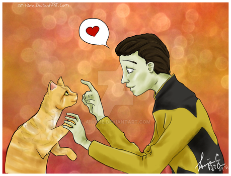 Star Trek TNG: Ode to Spot by Ai-hime