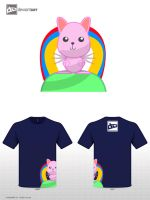 Meet pinky The winged Cute Kitty by DVJmzFX