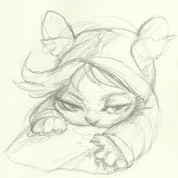 Little exhausted one by Felidacity