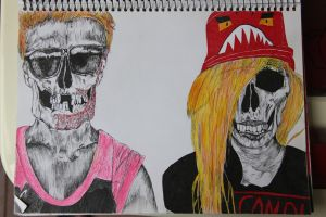 The Ting Tings by stolenspy
