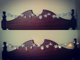 DIY Snowflake Leds by Yorphine