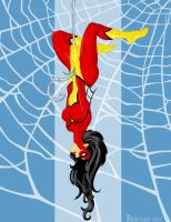 Spider Woman by AnimalQwacker