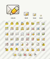Flat mail by Andy3ds