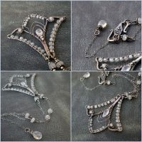 Liliane - necklace by Eire-handmade