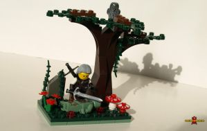 Gathering Ingredients: A LEGO Witcher Vignette by Saber-Scorpion
