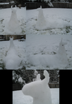 Snow Llama by Aura-BleedingHeart