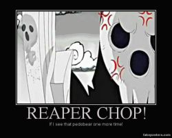 Reaper Chop by DarknessReaper424