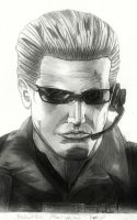 Albert Wesker by matt123chez