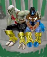 Raziel and Kain by s0fus-snk