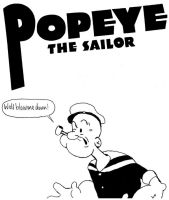 Popeye the Sailor by StevenEly