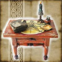 Mini Witch Divination Table by grimdeva