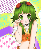 first gumi fanart by ffz3