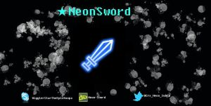 My Banner (DID NOT DRAW THE SWORD!!) by neonbluebricks