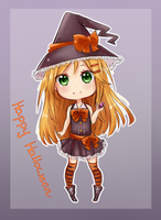 Happy Halloween by Kagami-chu