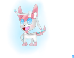Sylveon by ludmilabb2