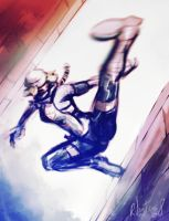 Sheik kicking arses by rafaelventura