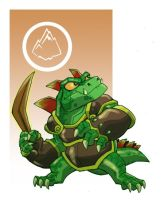 Skylanders Dino-Rang by chief-orc