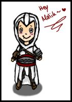 Assassin's Creed Altair Chibi by Alexis-Croft111