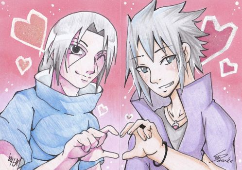 Collab ACEO: #7 Road To Ninja Brotherhood by Chillovery