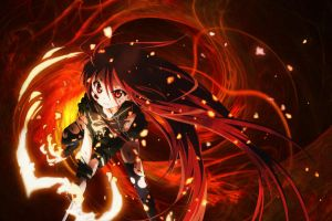 Shakugan no Shana by Diaboliku