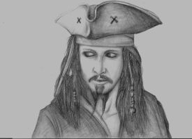 Captain Jack Sparrow by Torvald2000