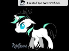 AridSnow - My little Pony - by SnowberryInc