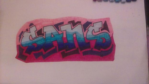start of my graffiti life  by wolves198