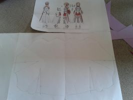 Asuna (SAO) Chest Armor Pattern by haibane-akari