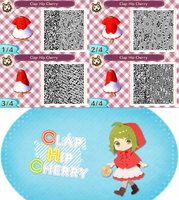 Animal Crossing New Leaf: Clap Hip Cherry by Nevasarini