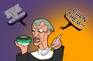 Frollo and Cardboard Cereals by DankoDeadZone