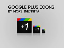 gOOGLE pLUS iCONS by Mors-Infinnita