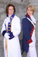 APH Austria and America by hannz0rz