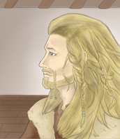 The Hobbit: Fili // Digital version // by MeSandra