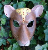 Rat Queen Leather Mask by merimask