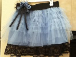Tim Burton's Alice skirt by PandoraLuv