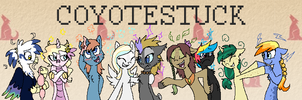 Coyotestuck banner by ive-moved-bitches