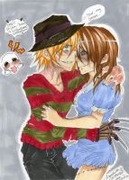 YOURU-FREDDY- Little Sarah... by AsuHan