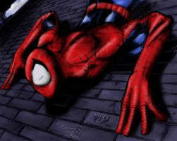 Spidey collab by LinkerLuis