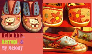 Hello Kitty and Friends shoes by Rosemev